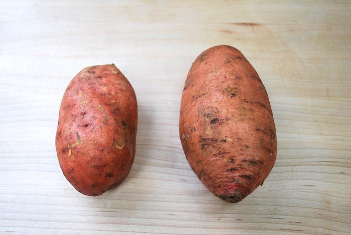 2 sweet potatoes
