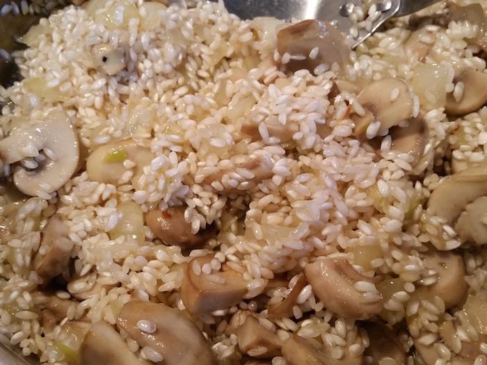 stir in the rice
