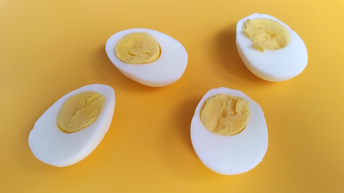 Peruvian Deviled Eggs made with horseradish and aji amarillo - a spicy take on a popular dish. Perfect as an appetizer or for your parties. ¡Al ataque!