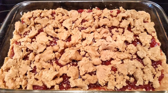 ready to bake pbj bars