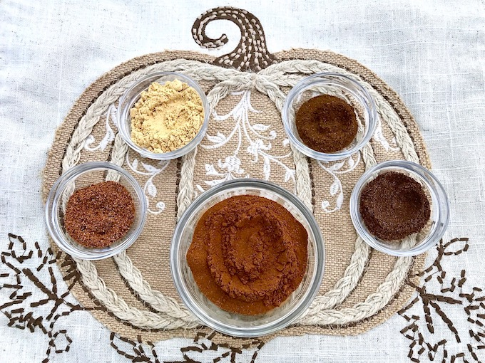 Spices used to make pumpkin Spice.