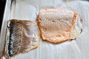 how to cook crispy skin on salmon
