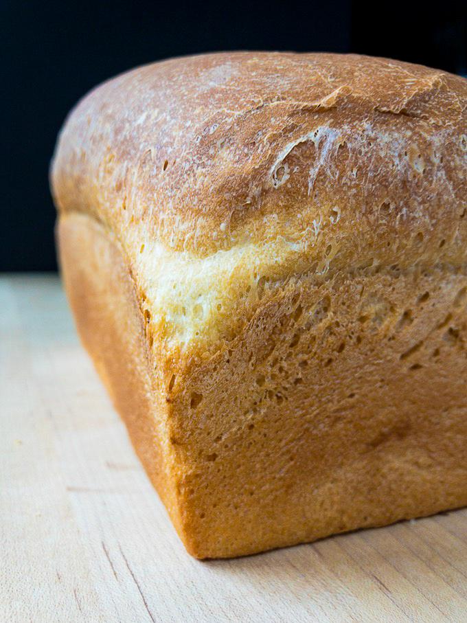 A golden loaf of bread.