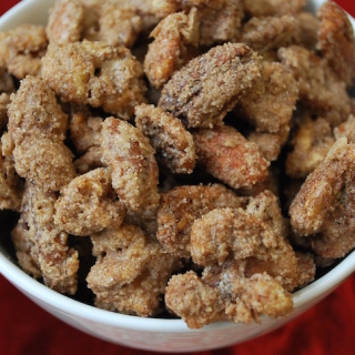 Cinnamon Sugared Nuts