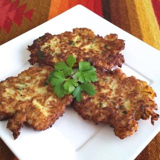 Cauliflower Pancakes (Torrejas de Coliflor)