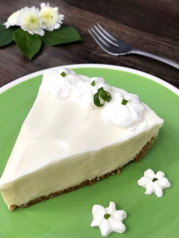 This is indeed the Ultimate Key Lime Pie. A velvety smooth texture that's perfectly tart from key lime juice yet sweetened from condensed milk poured into a graham cracker crust providing the perfect foundation for the perfect filling. Two choices of toppings puts this pie over the top.