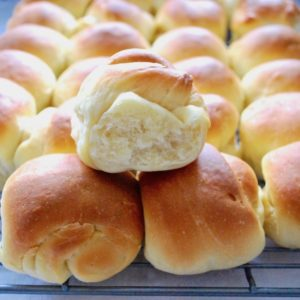 Perfect dinner roll.