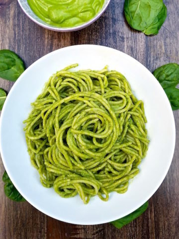Spinach Pesto feature
