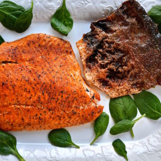 Spicy Roasted Salmon with Crispy Skin feature