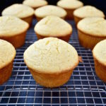 Muffin Method - Muffins on a cooling rack.