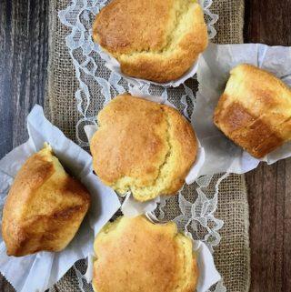 Bakery Style Corn Muffins
