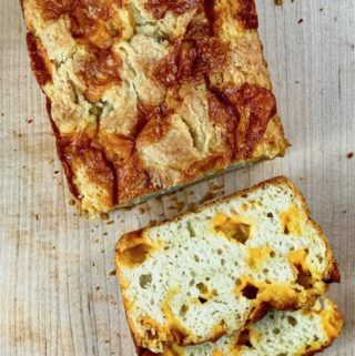 Quick Easy Cheddar Cheese Bread